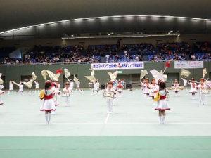 幼児マーチングバンド全国大会 第49回幼児マーチングバンド全国大会が駒沢オリンピック公園総合体育館にて行われました。子ども達の演奏は会場一杯に響き渡り、ラプンツェルの世界に包まれました。素敵な感動をありがとう!!